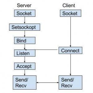 TCP Client Server-Socket Programming