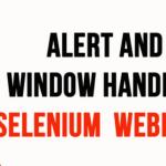 handle popup window in selenium