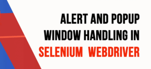 Handle popup windows in selenium